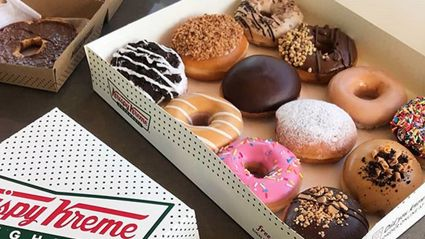 Krispy Kreme has just launched WEDDING doughnuts - and they are beautiful!