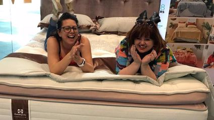 Estelle chats with Evie Kemp about her Designer Bedroom with Sealy