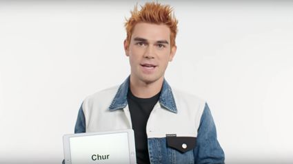 Riverdale's KJ Apa teaching Kiwi slang goes viral overseas!