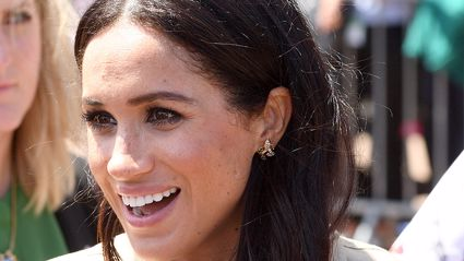 The internet is going crazy over Meghan Markle's glamorous bodyguard!
