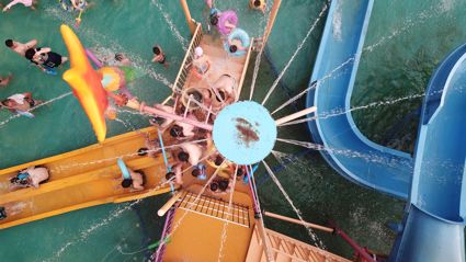 New Zealand is getting it's very own floating water park this summer!