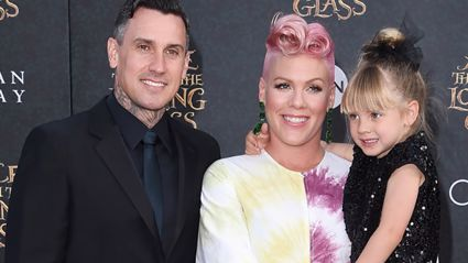 Pink's daughter has been rushed to hospital after injury