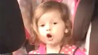 Adorable three-year-old girl belts out Queen's 'Bohemian Rhapsody' nailing every single word!