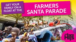 Farmers Santa Parade - Get Your Family On A Float!