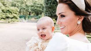 A new photo of Prince Louis playing with Prince Charles has been released - and it is super cute!