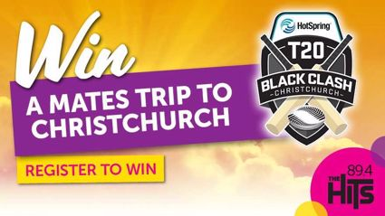 WIN: A Mates Trip to Christchurch T20 Black Clash