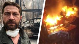 Celebrities affected by the devastating California wildfires share mind blowing photos