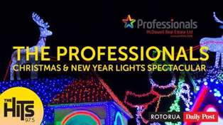 The Professionals Christmas and New Year Lights Spectacular
