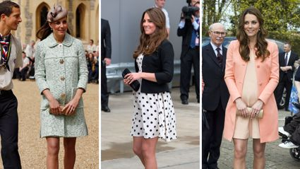 This is the very specific reason why Kate Middleton always wore shorter dresses during her pregnancies ...