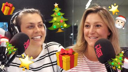 Toni Street and Laura McGoldrick get into the Christmas spirit in the best way EVER