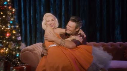 Gwen Stefani and Blake Shelton dropped a Christmas duet video and it is VERY cute