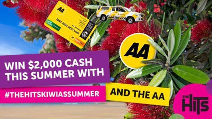WIN $2,000 with #THEHITSKIWIASSUMMER and The AA!