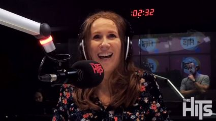 British comedian Catherine Tate talks her live NZ shows with Flynny
