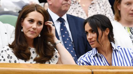 Kate  Middleton speaks out publicly for the first time about Meghan Markle following rift rumours