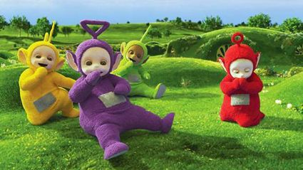 Here's what the actors in the Teletubby suits actually look like ...