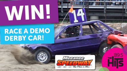 Race a Demolition Derby in the Meeanee Speedway Christmas Special!