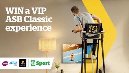 LOVE TENNIS? WIN A VIP TRIP TO THE 2019 ASB CLASSIC FINAL