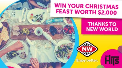 Sarah Sam and Toni have your chance to win a $2,000 Christmas Feast all thanks to New World!