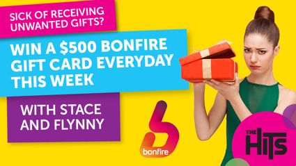 Win a $500 Bonfire Gift Card Everyday This Week with Stace and Flynny!