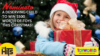 WIN! Nominate a deserving child to Win $500 worth of toys!