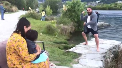 Kiwi dad's incredible gender reveal and haka proposal will melt your heart