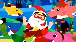 There's now a CHRISTMAS version of Baby Shark!