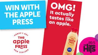 Win The Apple Press Range with Adam & Megan