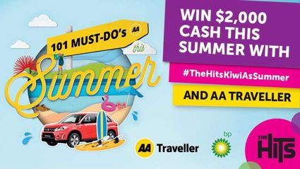 WIN $2,000 with #THEHITSKIWIASSUMMER and AA Traveller