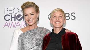 Portia de Rossi looks incredible as she unveils her new shaved head
