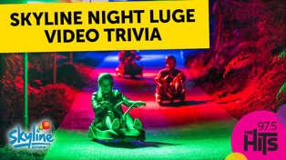 Skyline Night Luge - Video Trivia
