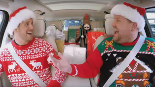 James Corden and Michael Buble make our festive wishes come true with EPIC Christmas Carpool Karaoke