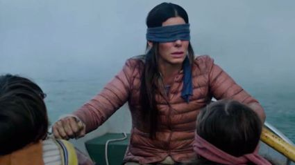 'Bird Box' designer reveals what the film's unseen creatures actually look like ... and the internet is laughing!