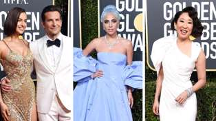 Take a look at the most stunning outfits from the 2019 Golden Globes