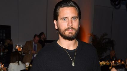 "Scott Disick has been labelled a ""racist"" after sharing this photo with his daughter ..."