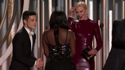 Nicole Kidman finally responds to THAT awkward Rami Malek snub ...