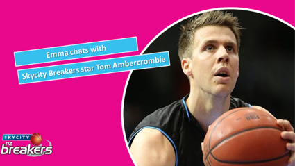 Emma catches up with Skycity Breakers star Tom Abercromie