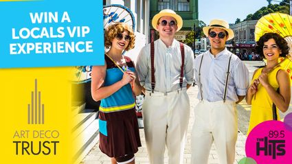WIN a VIP weekend experience at the Napier Art Deco Festival 2019!