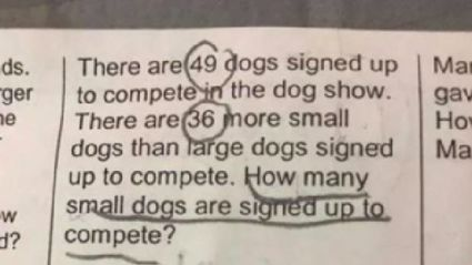 This maths question for seven-year-olds is breaking the internet ...