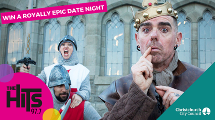 Win a Royally Epic Date Night thanks to Anthony Harper!
