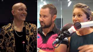 René from '90s band Aqua shows off his Māori tattoo to Sam Wallace and Toni Street!