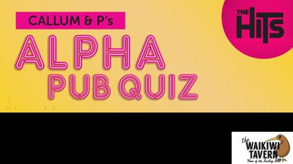 Callum and P's Alpha Pub Quiz 2019