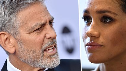 George Clooney hits out at the treatment of Meghan Markle comparing her to Princess Diana