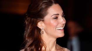 Kate Middleton looks like a Disney Princess in stunning pink ombré gown