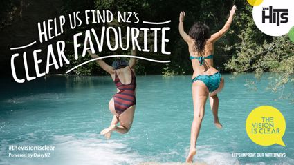 Vote for New Zealand's Clear Favourite waterway!