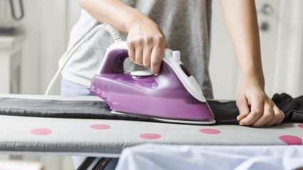 This SUPER simple ironing board hack will HALVE the time it takes you to iron!