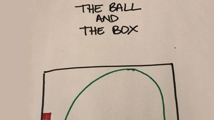 "Woman goes viral with ""the ball and the box"" analogy to perfectly explain the stages of grief"