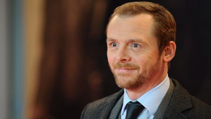 Hot Fuzz actor Simon Pegg is totally ripped now!