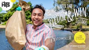 Pledge & Win $10,000 with World Water Day