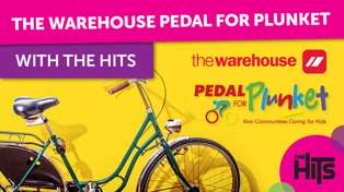 The Warehouse - Pedal for Plunket
