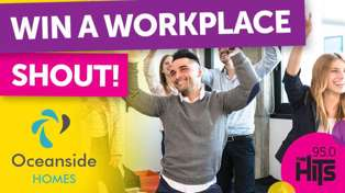 WIN! A Workplace Shout with Oceanside Homes!